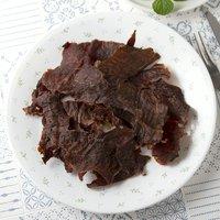 国産 うす~くスライスして焼いた牛もも肉のジャーキー 30g 無添加 無着色 PackunxCOCOA