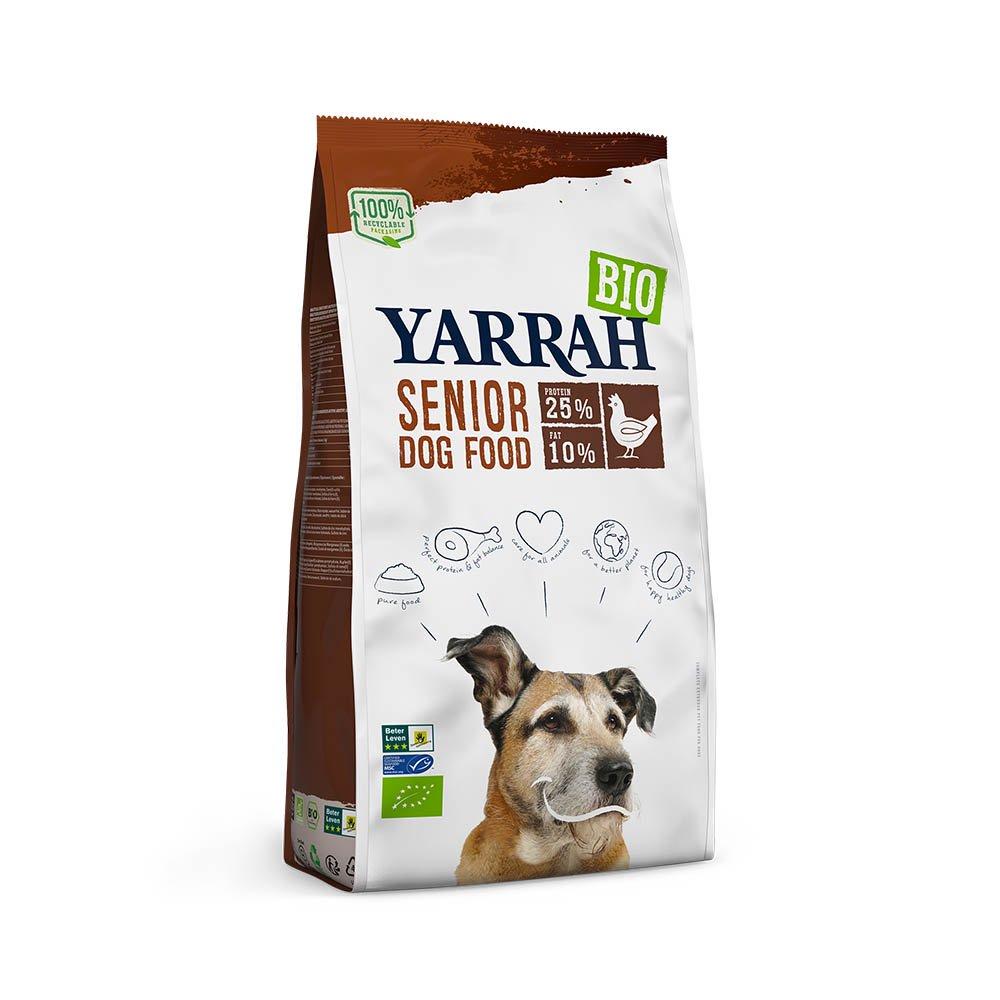 YARRAH(ヤラー) オーガニックドッグフード シニア 2kg ドッグフード YARRAH ヤラー