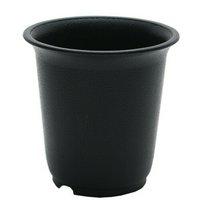 プラ鉢 2.5号 黒 多肉植物 植え替え 5個入り