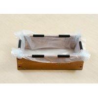 お手軽ビオトープ 池製作キット(W60×D30×H18.5cm) ブラウン
