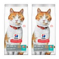 ヒルズ サイエンスダイエット キャットフード 避妊去勢後~6歳猫用 まぐろ 1.8kg×2袋