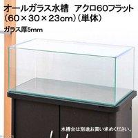 60cmフラット水槽(単体)アクロ60Nフラット(60×30×23cm)オールガラス水槽 Aqullo アクアリウム用品