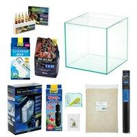 カクレクマノミ スターターセット 水槽用品のみ 説明書付き 小型海水魚飼育セット