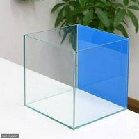 バックスクリーン貼付済 アクアブルー オールガラス25cm水槽 アクロ25N(25×25×25cm)(単体)