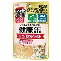 アイシア 子猫のための健康缶パウチ まぐろペースト 40g 48袋