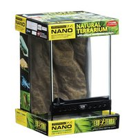 GEX エキゾテラ グラステラリウム ナノ(W21.5×D21.5×H33.0cm)(単体) 爬虫類飼育 ケージ ガラスケージ