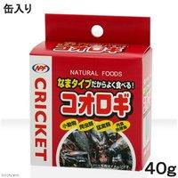 NPF コオロギ(缶入り) 40g 両生類爬虫類 ハリネズミ フード 餌 エサ 缶詰