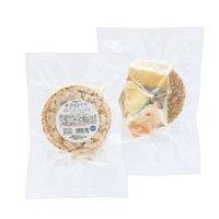 国産 ごはんぽんせん 鹿肉とほくほく野菜の玄米ぽん(ヤギミルク) 2枚セット 犬猫用おやつ PackunxCOCOA