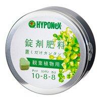 ハイポネックス 錠剤肥料シリーズ 観葉植物用 約70錠(N10P8K8)