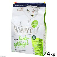 HAPPY CAT センシティブ ビオ ゲフルーゲル(オーガニックチキン) 4kg 正規品