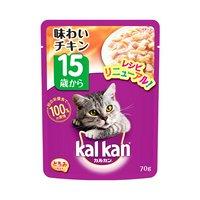 カルカン パウチ とろみ仕立て 15歳から 味わいチキン 70g キャットフード カルカン 超高齢猫用