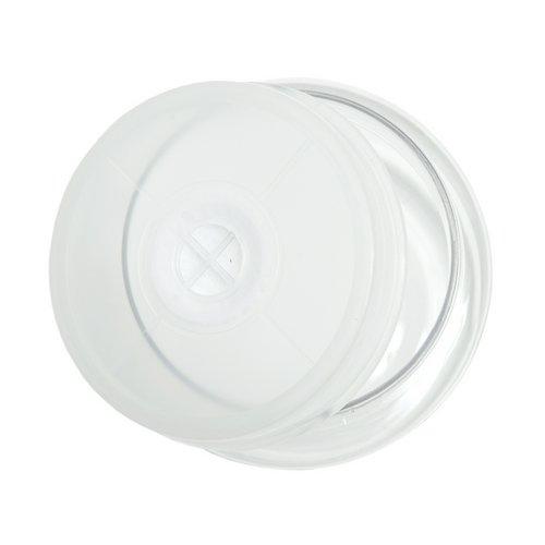 クリアボトル 500ml(直径8.0×9.5cm)穴あき フィルター付き 昆虫 カブトムシ クワガタ 大夢 空ボトル