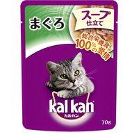 ボール売り カルカン パウチ スープ仕立て まぐろ 70g 1ボール16袋入り キャットフード カルカン 成猫用