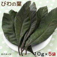 5袋セット 国産 びわの葉 10g×5袋 小動物用のおやつ 国産 無添加 無着色