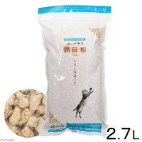 猫砂 わんわん 猫日和 木の砂 2.7L