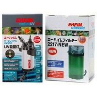 東日本用 エーハイム リーフレックス UV350 + 50Hz エーハイム クラシックフィルター 2217-NEW