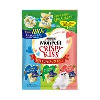 モンプチ クリスピーキッス バラエティーパック 贅沢シリーズ 180g(小袋60袋)
