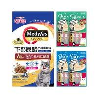 アソート 下部尿路の健康配慮 メディファス 7歳から チキン味 3kg+CIAOちゅ~る 2種各2袋