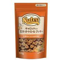 ニュートロ キャロット入り 玄米オートミール クッキー 100g