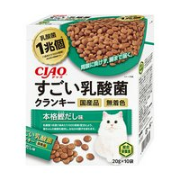CIAO すごい乳酸菌クランキー 本格鰹だし味 20g×10袋