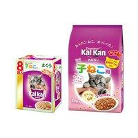 カルカン 子猫セット カルカンドライ 1.6kg + カルカン パウチ まぐろ 70g 8袋パック