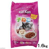カルカン ドライ 12か月までの子ねこ用 かつおと野菜味ミルク粒入り 1.6kg(小分けパック4袋入)