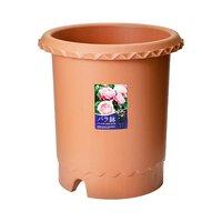 リッチェル バラ鉢 ブラウン 12号 φ36×36cm バラ用 イングリッシュローズ フレンチローズ