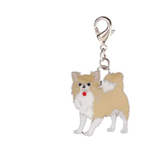 チャームコレクション フックチャーム 愛犬シリーズ チワワ 9 犬 猫 名入れ首輪 ストラップ用パーツ