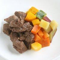 国産 ひとくち鹿肉ステーキと温野菜 60g 無添加無着色レトルト 犬猫用 Packun Specialite