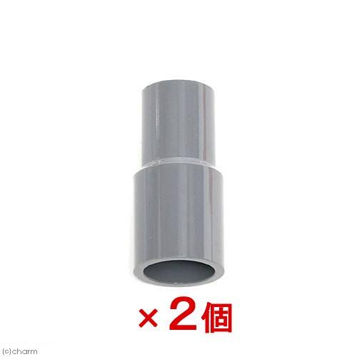 塩ビTS継手 異径ソケット 16A×13A(色:グレー) 2個