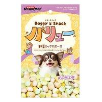 ドギースナックバリュー 野菜ミックス ボーロ 70g 犬 おやつ