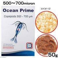 DVH Ocean Prime Copepods(フレッシュパックコペポーダ) 500~700micron 50g 海水魚 エサ