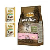 ニュートロ キャット ワイルド レシピ キトン チキン 子猫用 2kg + デイリー ディッシュ 子猫用 パウチ おまけ付