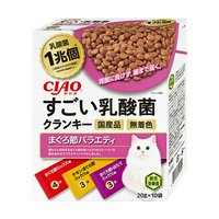 CIAO すごい乳酸菌クランキー まぐろ節バラエティ 20g×10袋