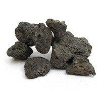 形状お任せ 黒溶岩石 サイズミックス 3kg