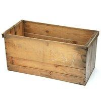 青森県産りんご箱 無塗装 訳あり 1箱