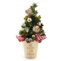 クリスマスアレンジアソート トールウッドツリー トナカイ(1個)