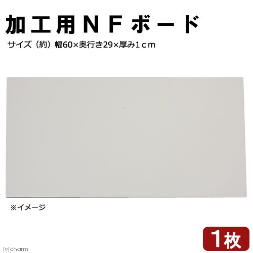 アウトレット品 NFボード 加工用 幅60×奥行き29×厚み1cm 1枚 訳あり