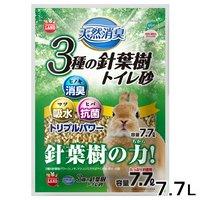 マルカン 天然消臭 3種の針葉樹トイレ砂 7.7L