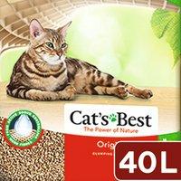 レッテンマイヤー キャッツベスト 固まる木のネコ砂 オリジナル 40L お一人様一点限り