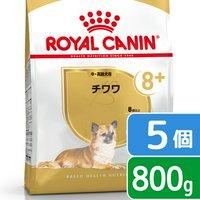 ロイヤルカナン チワワ 中高齢犬用 800g×5袋 ジップ付
