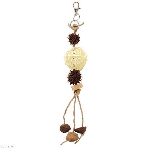 小鳥のナチュラルおもちゃ ハンドメイド バードトイ おもちゃ