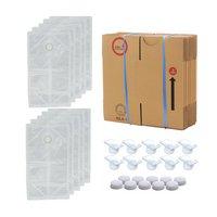 10Lテーナー梱包セット(袋キャップコック段ボール) 10個セット 梱包資材