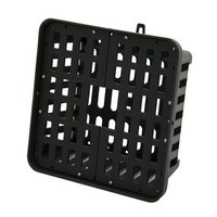 コウモリランバスケット ブラック 3Lサイズ ハンギング コウモリラン ビカクシダ フペルジア