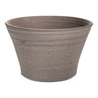 アウトレット品 国産 手作り睡蓮鉢 益子焼 彩(SAI) 姫睡蓮鉢 直径約23cm  訳あり