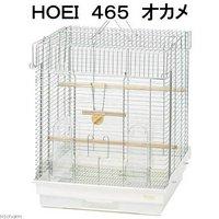 HOEI 465 オカメ(465×465×580)底色ホワイト オカメインコ 鳥かご