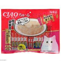 いなば CIAO チャオ ちゅ~る 総合栄養食 まぐろバラエティ 14g×40本入り ちゅーる チュール