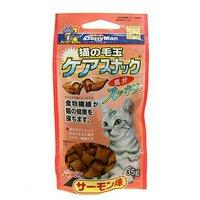 キャティーマン 猫の毛玉ケアスナック サーモン味 35g 猫 おやつ 毛玉ケア 猫の毛玉ケアスナック ドギーマン 6袋入り