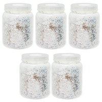 菌糸ビン XL-POT カワラタケ 800cc 5本 透明ボトル