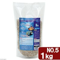 JUN プラチナリーフサンド No.5 中目タイプ 1kg 海水魚 底砂 サンゴ砂